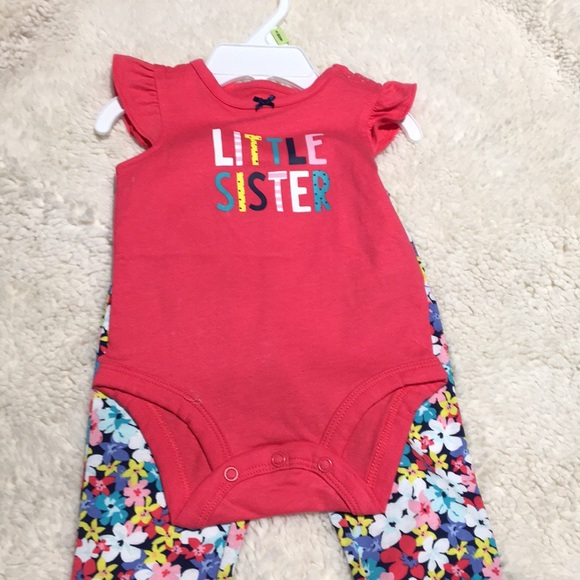 b16e03758 Carter's Matching Sets | Nwt Carters Little Sister Outfit | Poshmark